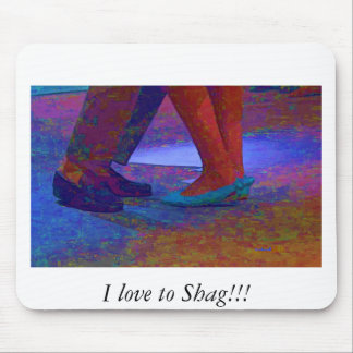 Shag with me mouse pad