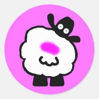 Shagged Sheep Stickers