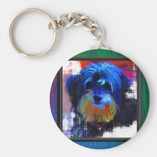 Shaggy Dog Keychain