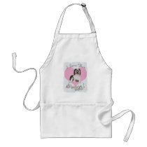 Shaggy Dog Parent Adult Apron