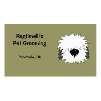 Shaggy Dog Pet Business Card