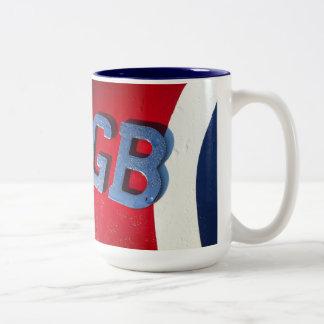 Shaggy GB Two-Tone Coffee Mug