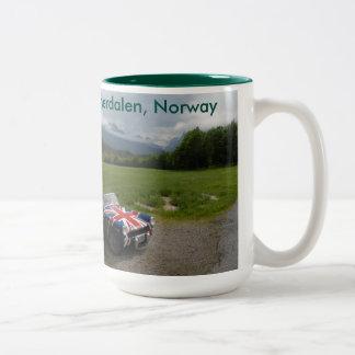 Shaggy innerdalen Two-Tone coffee mug