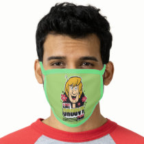 """Shaggy """"Like Groovy Man"""" Graphic Face Mask"""