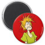 Shaggy Pose 03 2 Inch Round Magnet