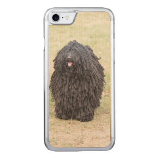 Shaggy Puli Dog Carved iPhone 7 Case