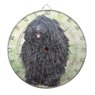 Shaggy Puli Dog Dartboard