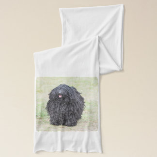 Shaggy Puli Dog Scarf