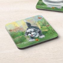 Shaggy Sheep Dog Beverage Coaster