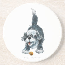Shaggy Sheep Dog Coaster