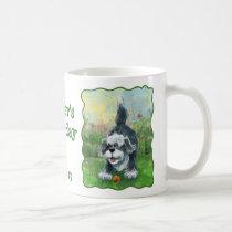 Shaggy Sheep Dog Party Center Coffee Mug
