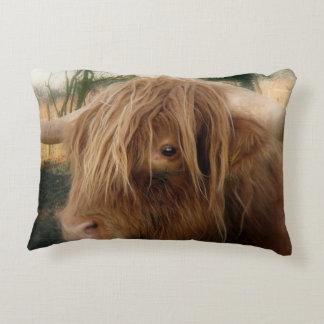 Shaggy Yak Decorative Pillow