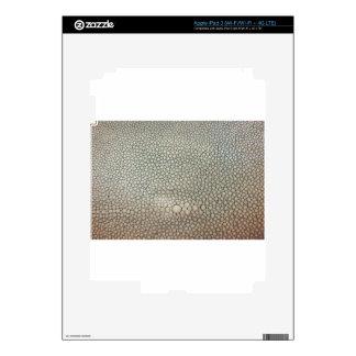 Shagreen Beige iPad 3 Decals