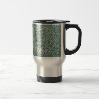 Shagreen Seafoam Green Mug