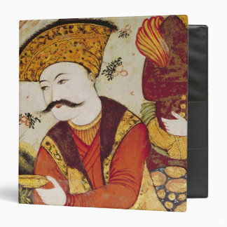 Shah Abbas I  and a Courtier offering 3 Ring Binder