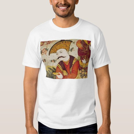 Shah Abbas I  and a Courtier offering T-Shirt