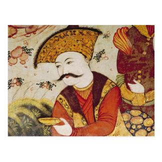 Shah Abbas I y un ofrecimiento del cortesano Postales