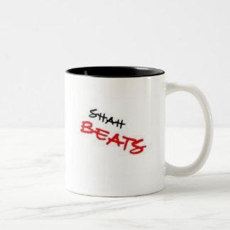shah beats logo mug