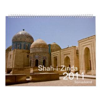 Shah-i-Zinda Samarkand 2011 Calendar