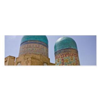 Shah-i-Zinda Tarjetas De Visita Mini