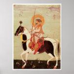 Shah Jahan on Horseback Print