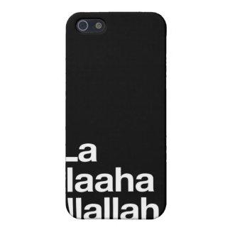 Shahada islámico en inglés iPhone 5 cobertura