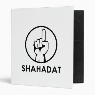 Shahadat (Witness) 3 Ring Binders