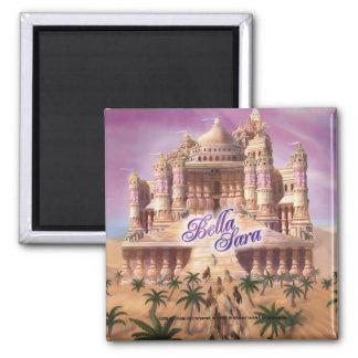 Shahazar Castle 2 Inch Square Magnet