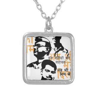 Shaheed The Indian Martyrs Silver Plated Necklace