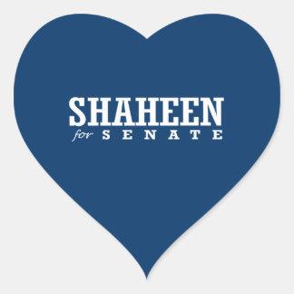 SHAHEEN FOR SENATE 2014 HEART STICKERS