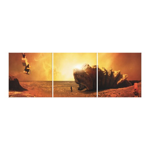 Shai-Hulud Stretched Canvas Print