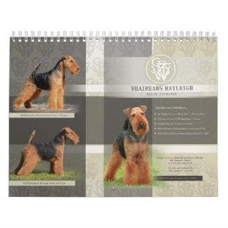 Shaireabs Bayleigh 2014 calendarios de Terrier gal