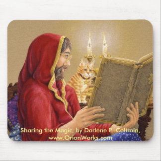 Shairing the Magic, Sharing the Magic, by Darle... Mouse Pad
