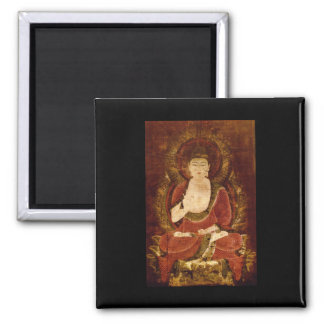Shaka, Founder of Buddhism_The Orient 2 Inch Square Magnet