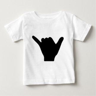 Shaka Hand Design Baby T-Shirt