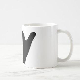 Shaka Hand Design Coffee Mug