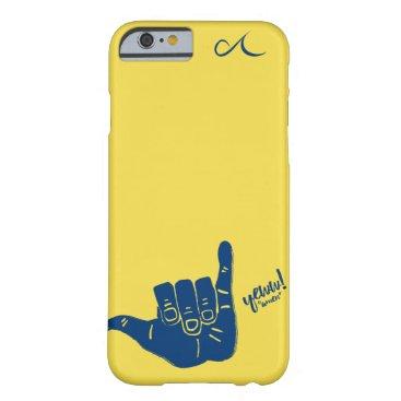 Beach Themed Shaka Phone Case
