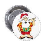 Shaka Santa Button