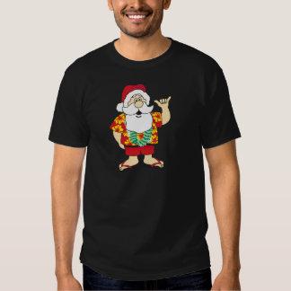 Shaka Santa T Shirt