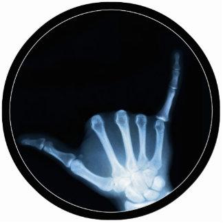 Shaka Sign X-Ray (Hang Loose) Cutout