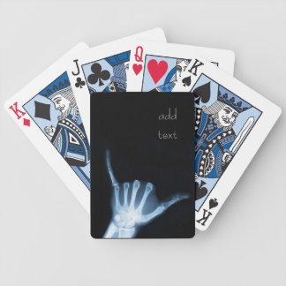 Shaka Sign X-Ray Hang Loose Playing Cards