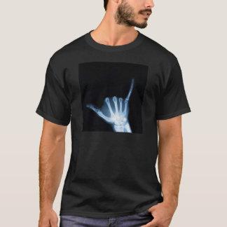 Shaka Sign X-Ray (Hang Loose) T-Shirt