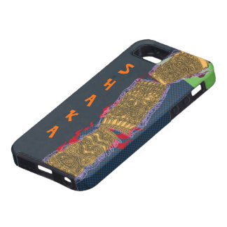 Shaka Tipsy Tiki Totem Low Brow Luau - iPhone SE/5/5s Case