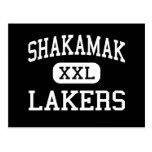 Shakamak - Lakers - High - Jasonville Indiana Postcard