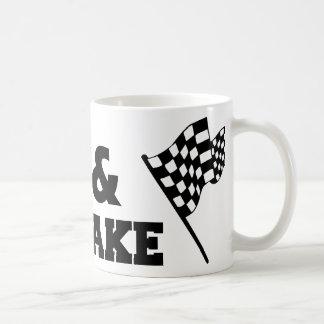 Shake and Bake Classic White Coffee Mug