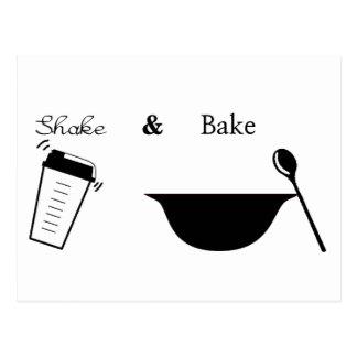 Shake and Bake Postcard