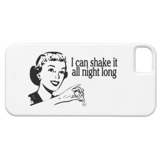 Shake It All Night Long Retro iPhone 5 Cases