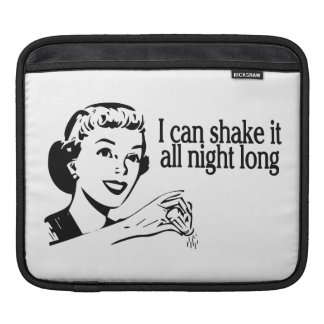 Shake It All Night Long Retro Sleeves For iPads
