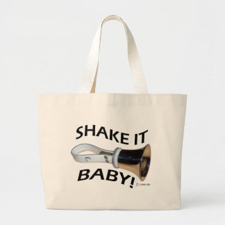 Shake It Baby! Jumbo Tote Bag
