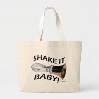 Shake It Baby! Large Tote Bag